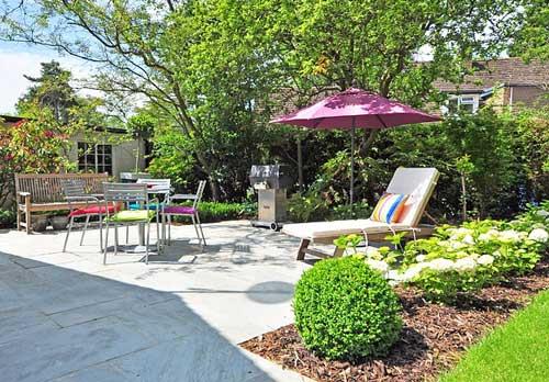 Altersgereichter Garten: Terrasse