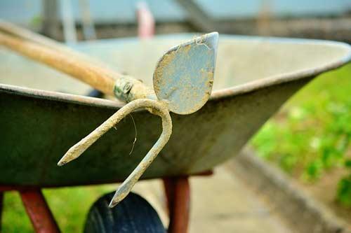 Gartengeräte richtig pflegen