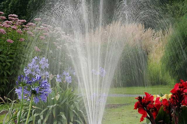 Beregnung - Eine Art zur Blumenbewässerung