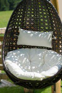 Hängesessel für Terrasse und Garten