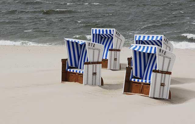 Ostsee Strandkorb für ein Ostseefeeling