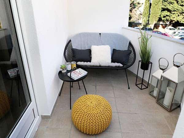Balkon einfach und günstig gestalten