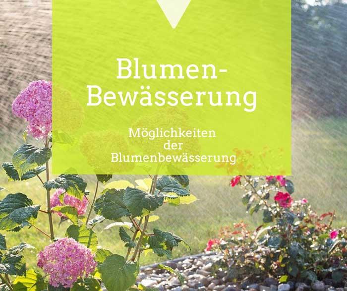 Blumenbewässerung
