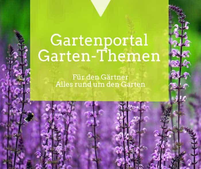 Willkommen auf unserem Gartenportal