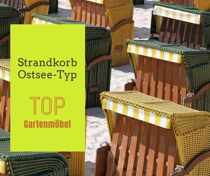 Strandkorb Ostsee Typ