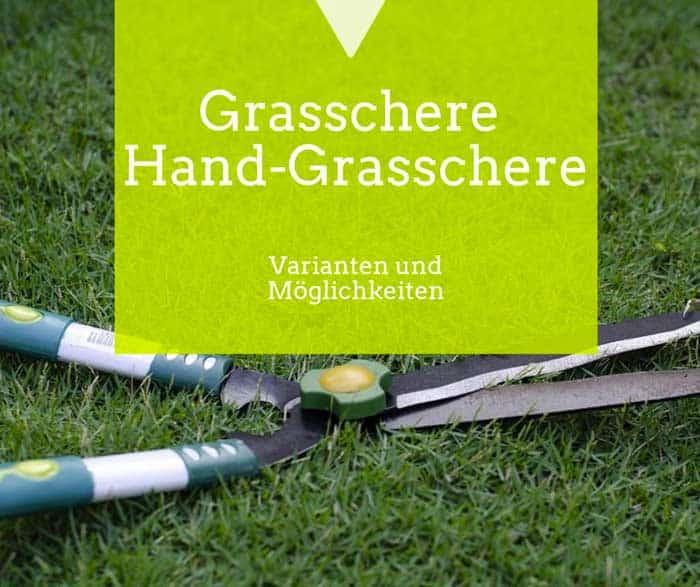 Die Grasschere für den Garten