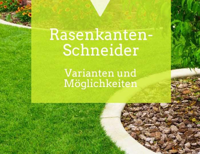 Rasenkantenschneider für saubere Rasenkanten
