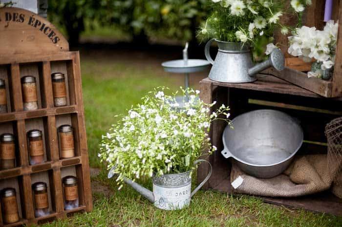 Vintage Gartendeko